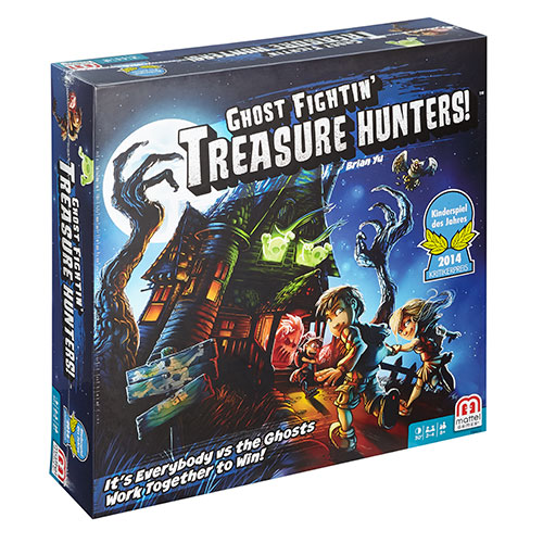 Ghost Fighting Treasure Hunters